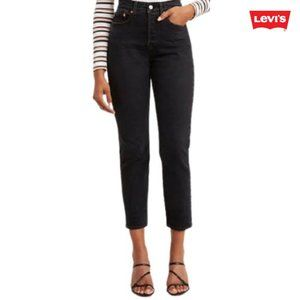 Levi's Black Wedgie Mom Jeans
